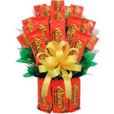 candy basket ideas reeses candy bouquet a unique candy gift