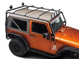 cargo rack for jeep wrangler barricade wrangler roof rack textured black j100174 07 17