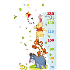 Winnie The Pooh Rug Uk Disney Winnie The Pooh Growth Chart Wall Sticker U0026 Reviews