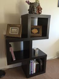 black wire wall shelving