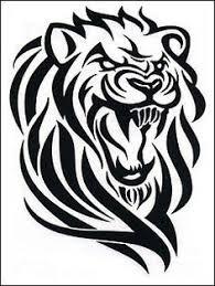 lion tattoo lion tribal tattoo decalcomanie free download