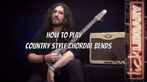 how to play country style chordal bends nick jennison guitar