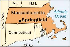 massachusetts on a map map still springfield mass favorite places spaces