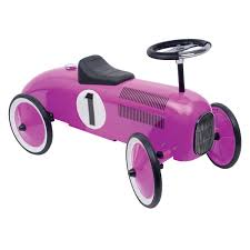 pink bentley bentley kids vintage metal racing ride on car buydirect4u
