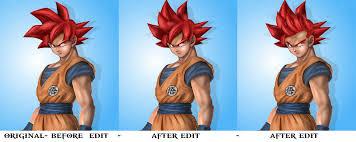 goku edit dragon ball battle naruttebayo67 deviantart