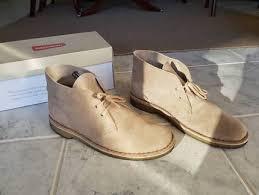 s clarks desert boots australia clarks desert boot s size 6 sand suede pink s shoes