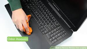 how to remove stickers from a laptop 11 steps with pictures
