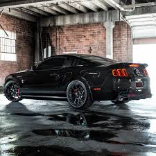 Black 2014 Mustang Vmb5 Satin Black 19x9 19x10 5 5x114 3 73 1 35 45et