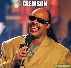 Clemson Memes - clemson meme stevie wonder 59075 memeshappen