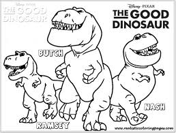 good dinosaur printable coloring pages realistic coloring pages