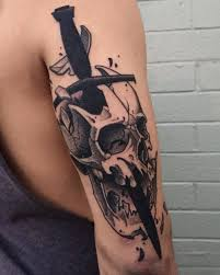 skull and sword