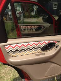diy fabric covered car interior such a cute idea but mine u0027s not
