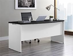 Executive Office Desk With Return Dorel Pursuit White And Gray Executive Office Desk