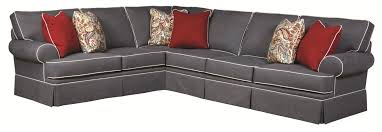 Angelo Bay Sectional Reviews by Broyhill Sectional U0026 Sofaswonderful Distressed Leather Sofa Twin