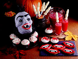fun halloween recipes for vampire and werewolf shaped treats