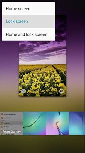 wallpaper for note edge screen how to set rotating lock screen wallpapers on samsung galaxy devices