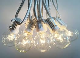 outdoor light string 100ft globe patio string lights
