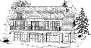 similar to this 2 car garage opens out to current parking lot 2