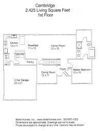 beiler homes presents the orchards u2013 floor plans