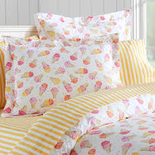 sweet treats duvet cover sham pbteen