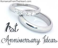 1st year anniversary gift ideas for 1st anniversary ideas romancefromtheheart