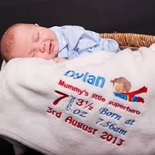 Engraved Blankets Baby Personalised Baby Blankets