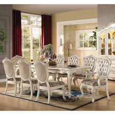 dining room beautiful high top table and chairs 9 piece square