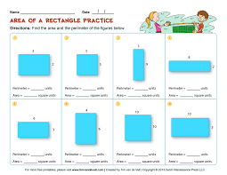 printable area worksheets 3rd grade area and perimeter worksheets third grade math worksheets