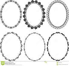 frames oval stock photo image 25354000