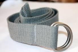 d ring belt gray webbing belt mens belt womens belt