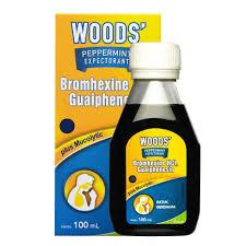 jual woods pepermint ekspektoran 100 ml obat batuk berdahak vm di
