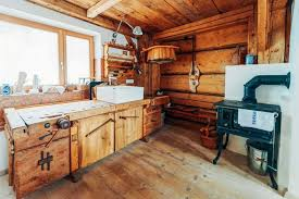 black kitchen cabinets in log cabin 70 rustic kitchen ideas inspiration photo post home