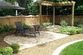 backyard ideas on a budget fire pit landscaping design landscape