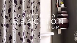 Blackout Curtains Bed Bath Beyond Kenneth Cole Reaction Home Shade Shower Curtain At Bed Bath