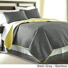 california king quilts and coverlets gray cotton king quilt grey and yellow quilt king size gray and