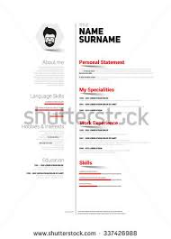 Language Skills Resume Sample by Cv Sample Stock Images Royalty Free Images U0026 Vectors Shutterstock