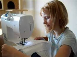 kids first sewing machine experience youtube
