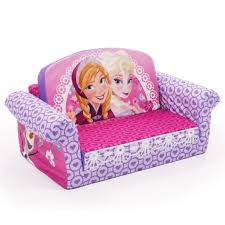 kids flip out sofa in prissy disney character childrens flip out