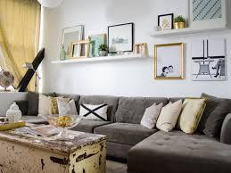 livingroom shelves for floating shelves in living room