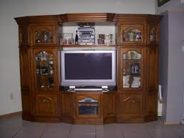 entertainment centers wall unit oak tv center units design ideas