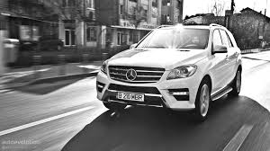 mercedes jeep white mercedes benz ml350 review autoevolution