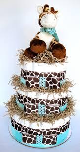 baby boy giraffe diaper cakes diaper cake giraffe theme