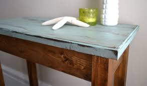 Pine Side Table The Blue Pine Side Table Aftcra