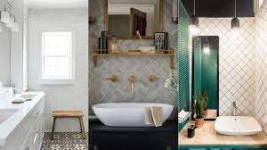 subway tile alternatives you u0027ll love for your bathroom nonagon style