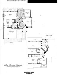 Legacy Homes Floor Plans Las Sendas Floor Plans