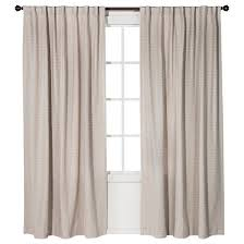 Linen Drapery Linen Weave Curtain Panel Neutral Ivory 54