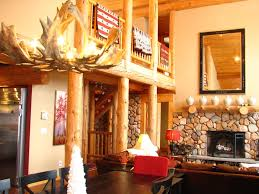 stunning luxury log home in sunday river homeaway newry