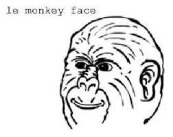 Monkey Face Meme - le monkey face le x face know your meme