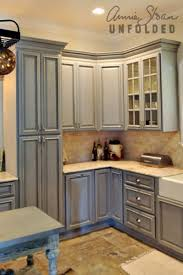 how to paint kitchen cabinets with chalk paint annie for anne