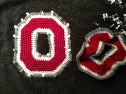 Ohio State Home Decor by Crochet Pattern Pattern For Ohio State Inspired Crochet